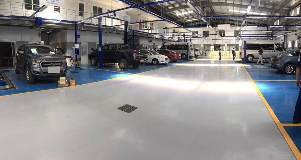 Nhà Xưởng tại Ford Hải Dương