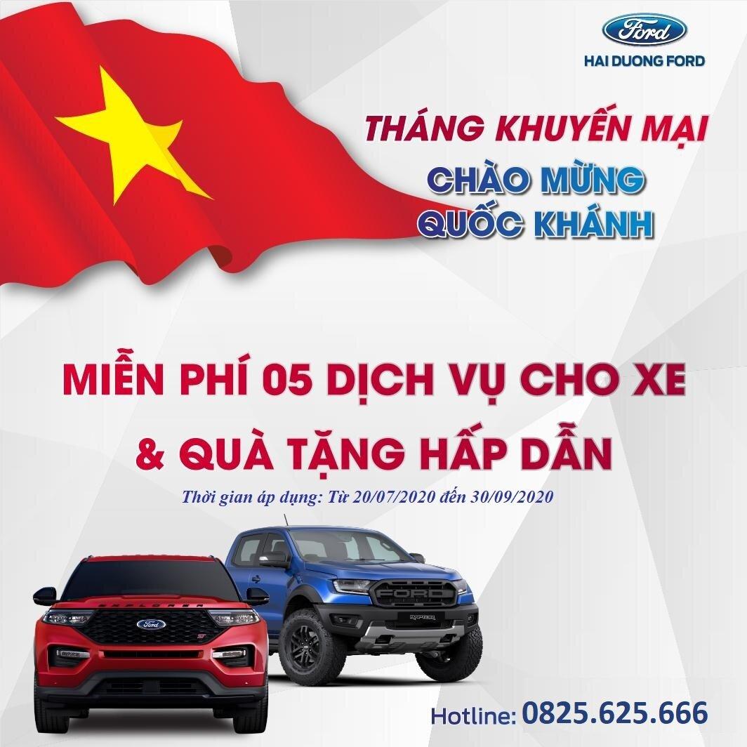 Ford Hải Dương Khuyến Mại Cho Khách Hàng Dịch Vụ
