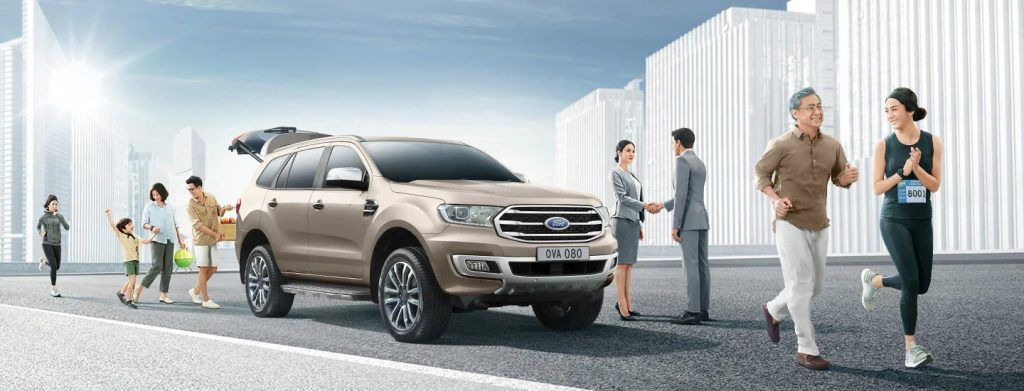 nền Ford Everest