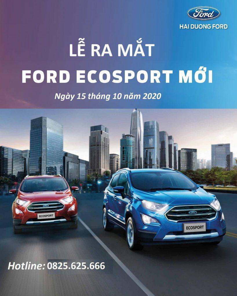 ra mắt Ford EcoSport 2020