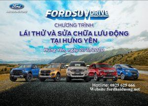 Lái Thử Xe Ford Tại Hưng Yên